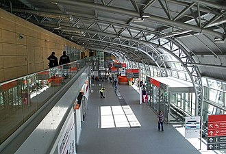 Warsaw Modlin Airport - Check-in hall