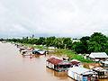 Nuôi cá trong lồng bè ở Bình Khánh.jpg