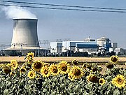 The most visible civilian use of uranium is as the thermal power source used in nuclear power plants.