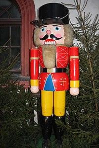 Nussknacker aus Chemnitz. Weihnachtsmarkt. IMG 7179WI