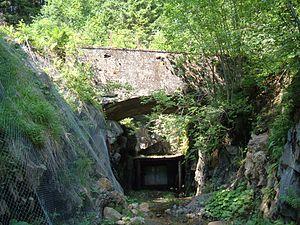 Bastnäs - The New mine of Bastnäs Swedish: Nya Bastnässtollen