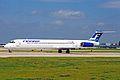 OH-LMH 2 MD-82 Finnair MAN 26JUL02 (8247105978).jpg