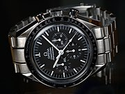 The Omega Speedmaster, selected by U.S. space agencies.