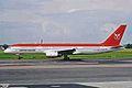 OY-GRL 1 B757-236 Greenlandair CPH 16AUG00 (6687099049).jpg