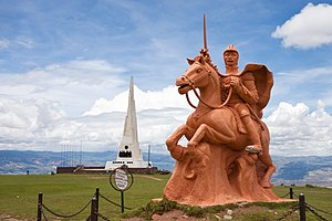 Ayacucho Region - Image: Obelisk Battle of Ayacucho and Sucre MC