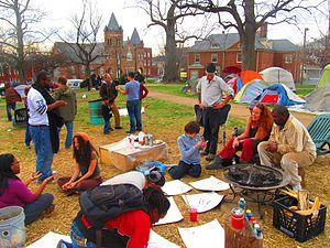 Occupy Charlottesville - Occupy Charlottesville members