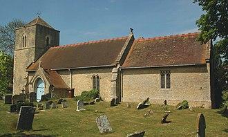 Oddington, Oxfordshire - Image: Oddington St Andrew South Elevation