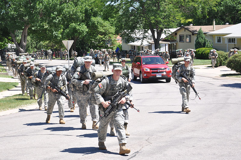 Officer candidates step off to final training phase 110716-A-DI382-012.jpg