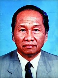 A. A. Baramuli Indonesian prosecutor, politician and businessman