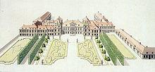 Sächsisches Palais in Warschau, 18. Jahrhundert (Quelle: Wikimedia)