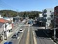 Okayama Electric Tramway Higashiyama Tram Stop - panoramio (2).jpg