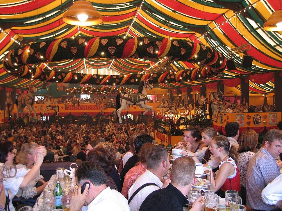 Oktoberfest inside Hippodrom