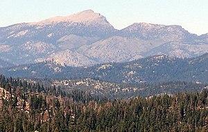 Olancha Peak - Olancha Peak seen from Bald Mountain, summer 2007.