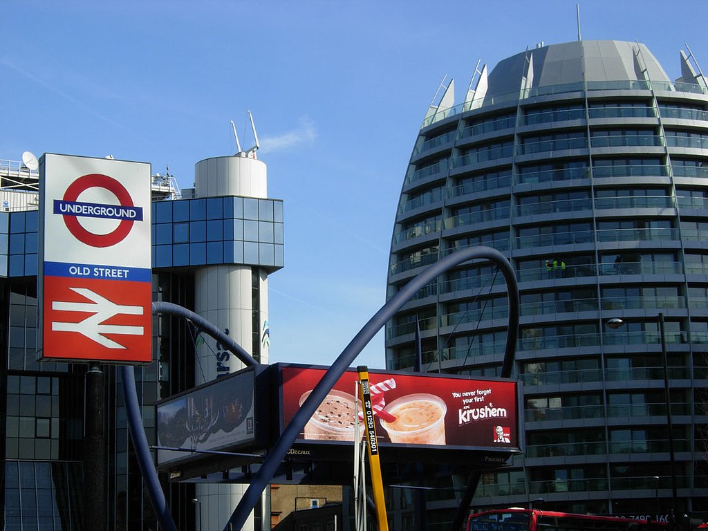 Old Street Roundabout - geograph.org.uk - 1758354