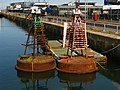 Old navigation buoys, York Dock, Belfast - geograph.org.uk - 874408.jpg