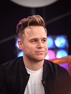 Olly Murs English singer, songwriter and presenter
