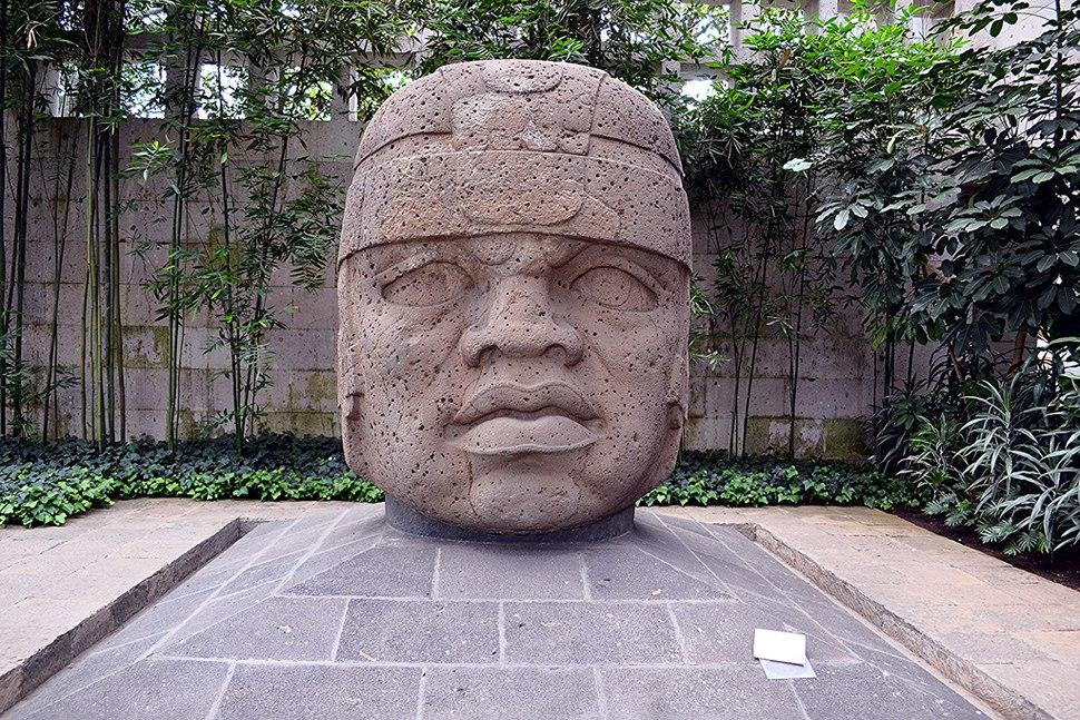 Olmec Head No. 1