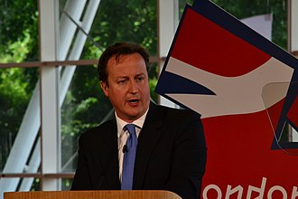 Loughborough University - Prime Minister David Cameron giving Olympics Speech at Loughborough University in 2011