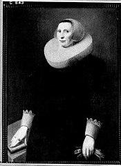 Portret van een vrouw, waarschijnlijk een lid van de familie Beaumont