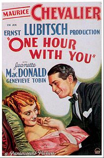 <i>One Hour with You</i> 1932 film