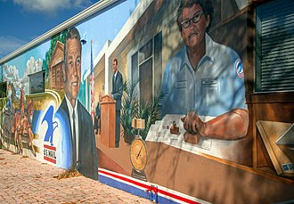 Lake Placid, Florida - One of the 47 murals