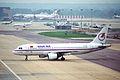 Onur Air Airbus A320-211; TC-ONC@LGW;14.04.1996 (5217501256).jpg