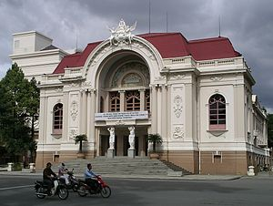 Opera house in Ho Chi Minh City