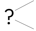 Open ended questions symbol.png