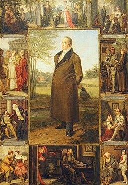 Oppenheim Goethe Illustration@Goethe-Museum Frankfurt a.M.20170819