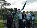 Osa Aruküla Uudiste liikmeist Aruküla Uudiste 3. sünnipäeval (2005).jpg