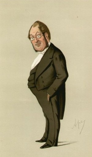 "Oscar Clayton - ""Fashionable Surgery"", a caricature of Clayton by Ape in Vanity Fair magazine, 12 September 1874"
