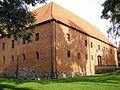 Ostróda, zamek, poł. XIV, po 1945.JPG