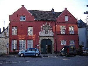 Beguinage of Oudenaarde (entrance). Oudenaarde...