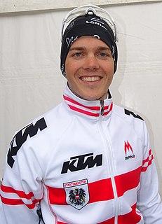 Gregor Mühlberger Austrian cyclist