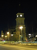 File:Oulu Cathedral by night 20080314.jpg