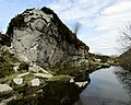 Outcrop in Haytor Quarry (2).jpg
