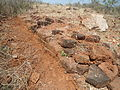 Outline of Stupa Brick Remnants at Pellikonda 03.JPG