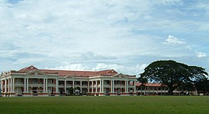 Malay College Kuala Kangsar - The Overfloor with the Big Tree on its left