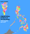 PH Congressional districts 14th Congress.png