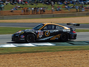 Symantec - Symantec sponsored Porsche 997 GT3 Cup competing at the 2012 Petit Le Mans
