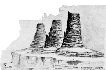 PSM V54 D076 The three brothers turrets.png