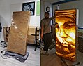 Packing tape art by Slava Ostap- Yuri Gagarin portrait.jpg