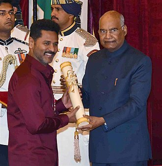 Prabhu Deva - The President, Shri Ram Nath Kovind presenting the Padma Shree Award to Shri Prabhu Deva, at an Investiture Ceremony, at Rashtrapati Bhavan, in New Delhi on March 11, 2019
