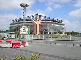 Élan Béarnais - The Palais des Sports, the home arena of the team