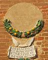 Palazzo vicariale di certaldo, facciata, stemma minerbetti.JPG