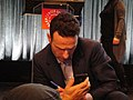 PaleyFest 2011 - The Walking Dead panel - Andrew Lincoln signs for fans (5500585124).jpg