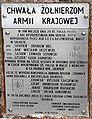 Pamiątkowa tablica w Opatowie.JPG