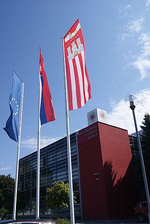 Pan-European University - The University in July 2014