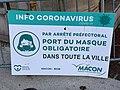 Panneau Info Coronavirus Rue Victor Hugo - Mâcon (FR71) - 2020-12-22 - 1.jpg