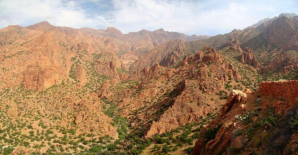 Panorama Djebel el Kest